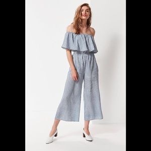 NWOT Urban Outfitters Off Shoulder Jumpsuit